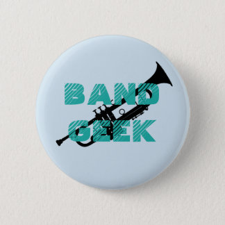 Band Geek Trumpet Pin