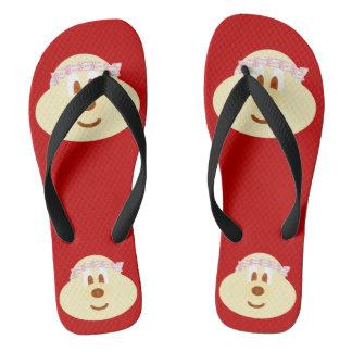 Band Hat 鮑 鮑 - Adult Flip Flop