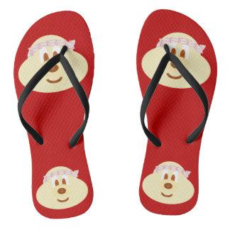 Band Hat 鮑 鮑 - Adult Slim Flip Flop