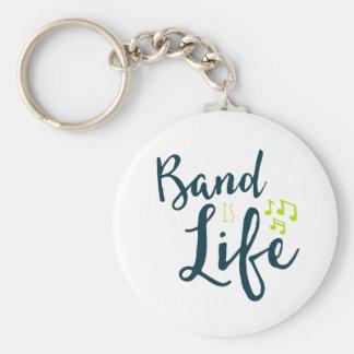 Band is Life Keychain