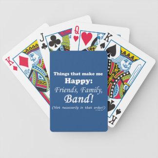 Band Makes Me Happy Poker Deck