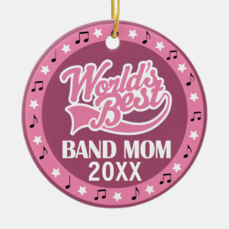 Band Mom Personalized Thank You Gift Ceramic Ornament