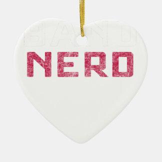 Band Nerd Ceramic Ornament