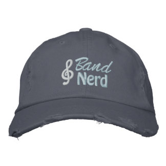 Band Nerd Embroidered Hat