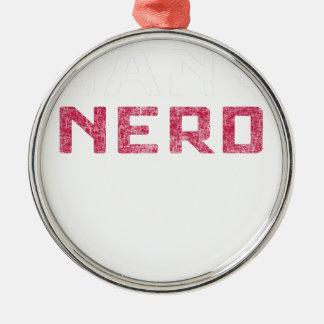 Band Nerd Metal Ornament