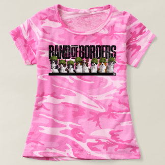 Band Of Borders - Pink Camouflage T-shirt