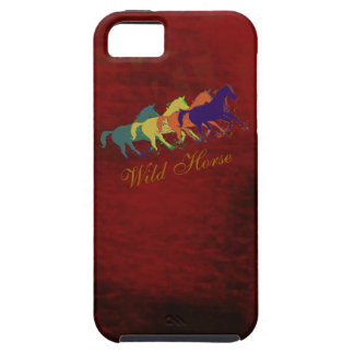 band of wild horses running iPhone 5 cover