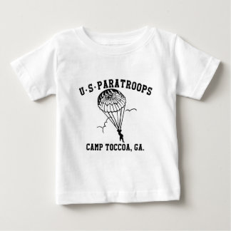 Band off Brothers Currahee US Paratrooper Toccoa Baby T-Shirt