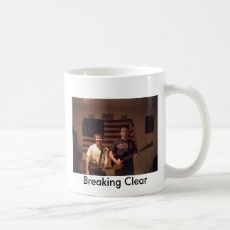 band photo, Breaking Clear Coffee Mug