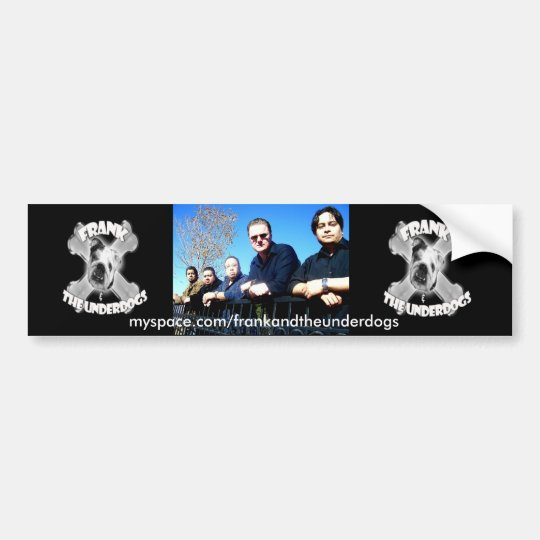 Band Picture Bumper Sticker