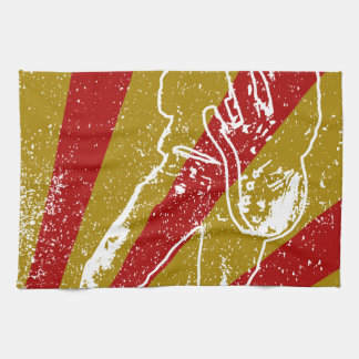 Band Poster Background Towels