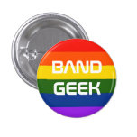 Band Pride 1 Inch Round Button