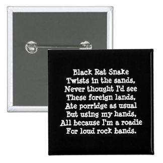 Band Roadie Poem Custom Pin