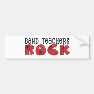Band Teachers Rock Bumper Sticker