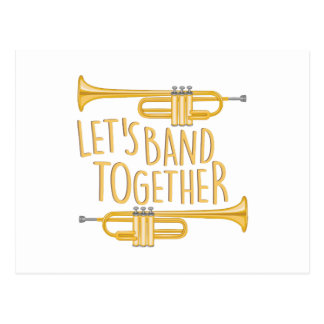 Band Together Postcard