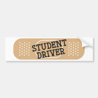 Bandage de conducteur d'étudiant autocollant de voiture