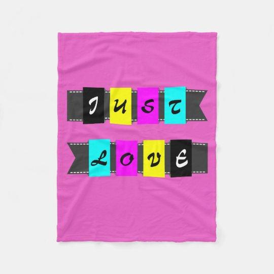 Bandage film ` ' Just Love'' Fleece Blanket