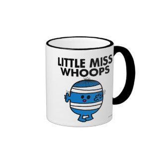 Bandaged Little Miss Whoops Ringer Mug