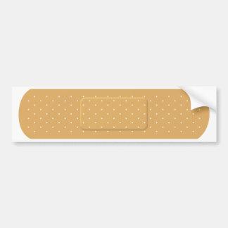 Bandaid for White Car Bumper Sticker