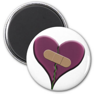 Bandaid Heart Magnet
