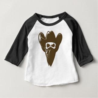 Bandana Cowboy With Hat Baby T-Shirt