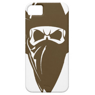 Bandana Cowboy With Hat iPhone 5 Cases