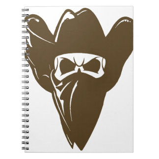 Bandana Cowboy With Hat Note Books
