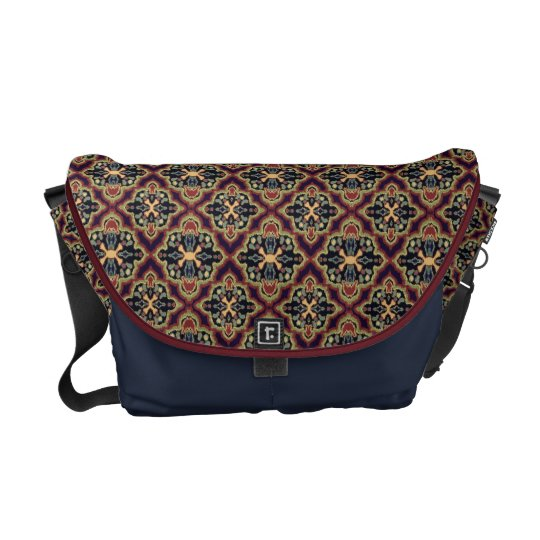 Bandana Diamonds Messenger Bag