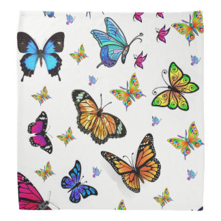 bandana girls butterfly