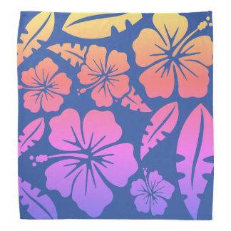 Bandana Good Vibes Flores of the Havai