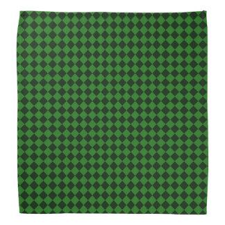 Bandana/Green Pattern Bandana