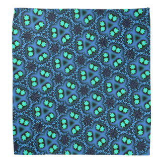 Bandana Jimette blue and black Design