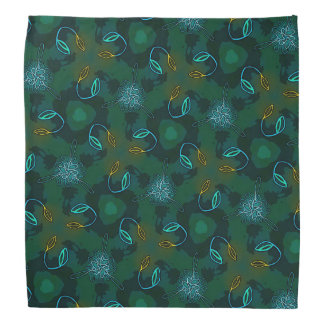 Bandana Jimette Design orange blue and green