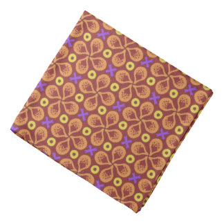 Bandana Jimette Design orange pink and yellow