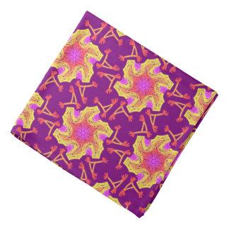 Bandana Jimette Design orange yellow pink purple