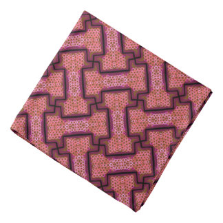 Bandana Jimette pink and black Design