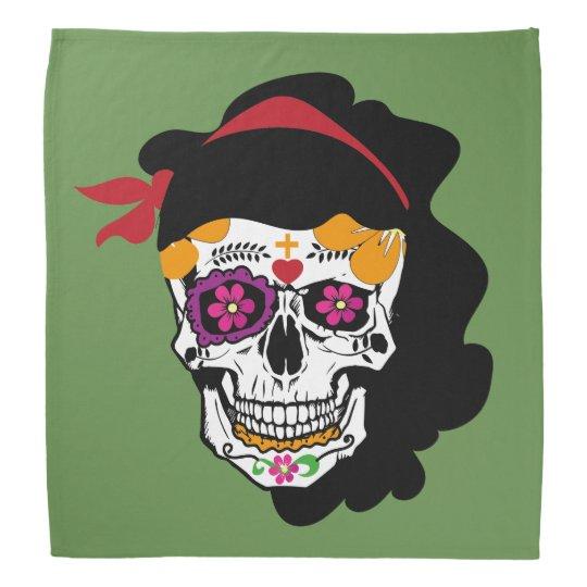 Bandana Mexicana Skull