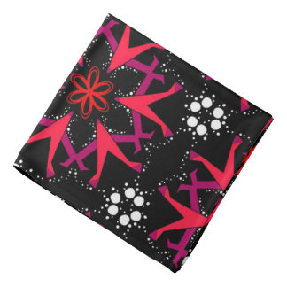 Bandana red Jimette red white and black