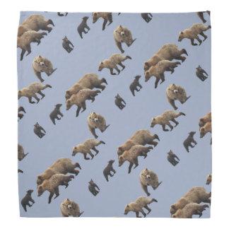 Bandana w/ grizzly bears