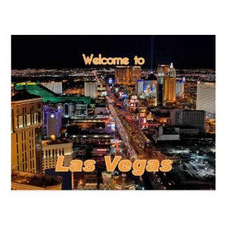 Bande de Las Vegas la nuit Cartes Postales