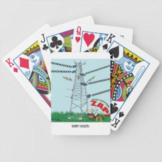 Bande dessinée 9191 de lapin jeu de cartes