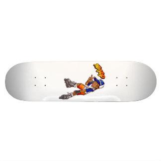 Bande dessinée adolescente de patineur de hip hop skateboards cutomisables