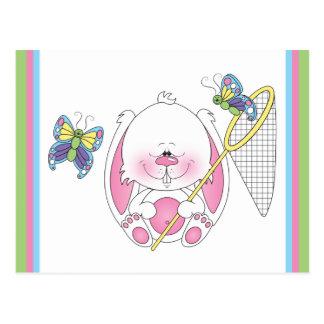Bande dessinée de lapin de bébé cartes postales