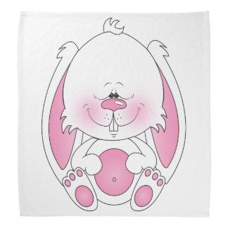 Bande dessinée de lapin de bébé foulards