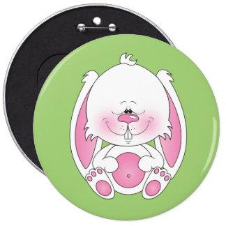 Bande dessinée de lapin de bébé macaron rond 15,2 cm