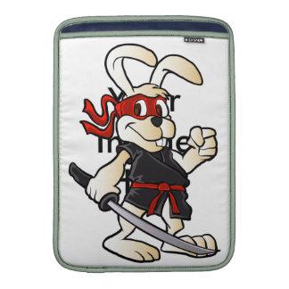 bande dessinée de lapin de ninja poches pour macbook air