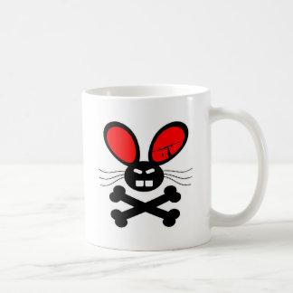 Bande dessinée de lapin de tueur tasse
