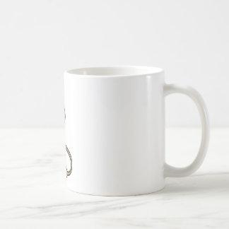 Bande dessinée de lapin tasses à café