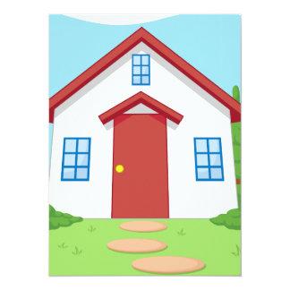 Bande dessinée de petite Chambre mignonne avec le Invitations Personnalisées