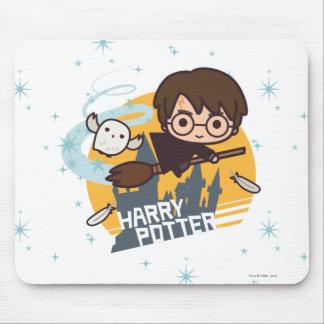 Bande dessinée Harry et vol de Hedwig après Tapis De Souris